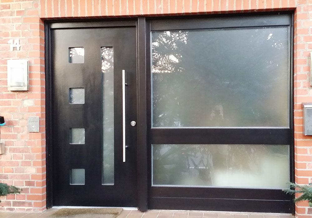 Haustüren mit breitem seitenteil  Haustüren und Fenster - Tischlerei Luttmann